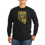 Pershing County Sheriff Long Sleeve Dark T-Shirt
