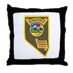 Pershing County Sheriff Throw Pillow