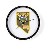 Pershing County Sheriff Wall Clock