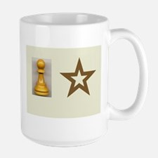 Pawn Star Left and Right handed Mug