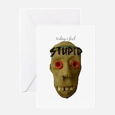 Stupid Feeling Greeting Card