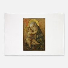 Madonna with Child 5'x7'Area Rug
