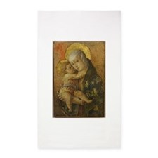Madonna with Child 3'x5' Area Rug