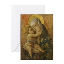 Madonna with Child Greeting Cards