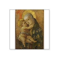 Madonna with Child Sticker