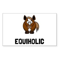 Equiholic Horse Decal