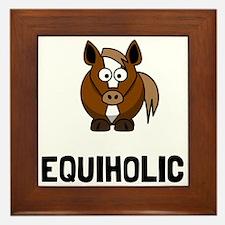 Equiholic Horse Framed Tile