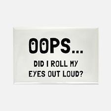 Eye Roll Magnets