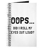 Sarcasm Journals & Spiral Notebooks
