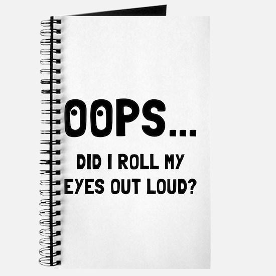 Eye Roll Journal