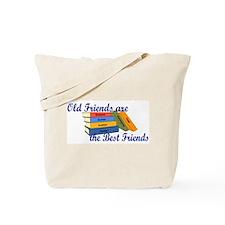Books Best Friends Tote Bag