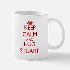 Keep Calm and HUG Stuart Mugs