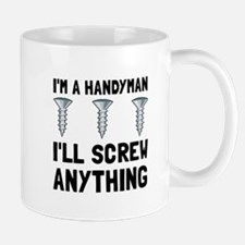 Handyman Screw Mugs