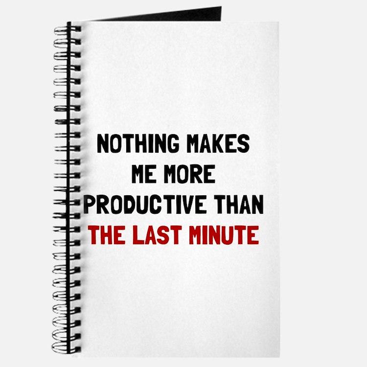 Last Minute Journal