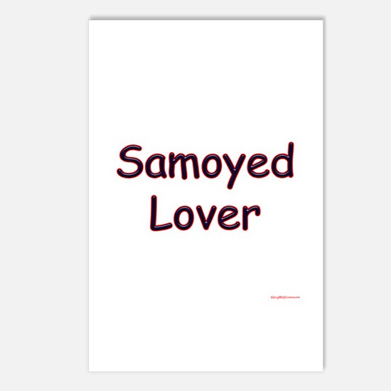 Samoyed Lover Postcards (Package of 8)