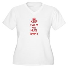 Keep Calm and HUG Timmy Plus Size T-Shirt