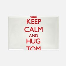 Keep Calm and HUG Tom Magnets