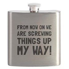 Screwing Up My Way Flask