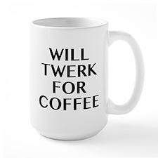 Will Twerk For Coffee Mug