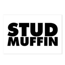 Stud Muffin Postcards (Package of 8)