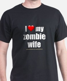 """Love My Zombie Wife"" T-Shirt"