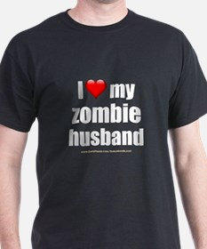 """Love My Zombie Husband"" T-Shirt"