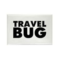Travel Bug Rectangle Magnet