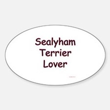 Sealy Lover Oval Decal