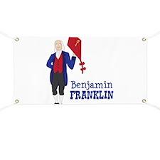 Benjamin FRANKLIN Banner