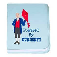 Powered By CURIOSITY baby blanket