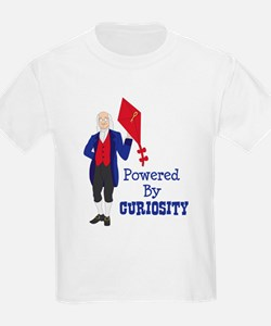 Powered By CURIOSITY T-Shirt
