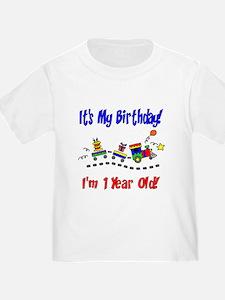 Train 1st Birthday T