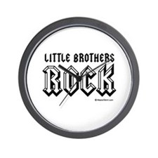 Little brothers rock / Baby Humor Wall Clock