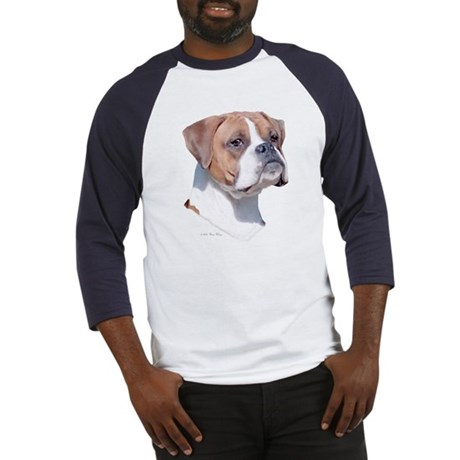 Boxer w/Natural Ears Baseball Jersey