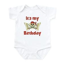 Pirate Birthday Infant Bodysuit