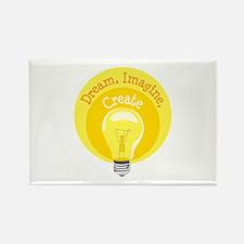 Dream, Imagine, Create Magnets