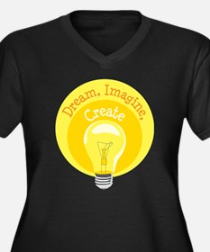 Dream, Imagine, Create Plus Size T-Shirt