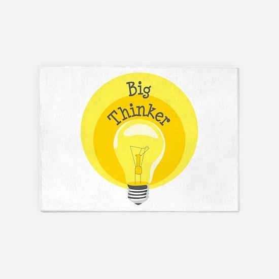 Big Thinker 5'x7'Area Rug