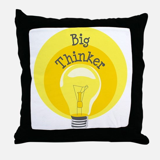 Big Thinker Throw Pillow