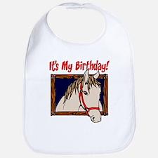 Horse Birthday Bib