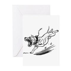 Old Scratch - Historic Image Greeting Cards