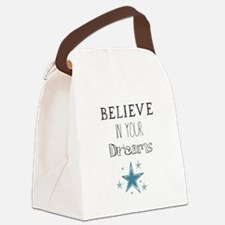 Believe in Your Dreams Canvas Lunch Bag