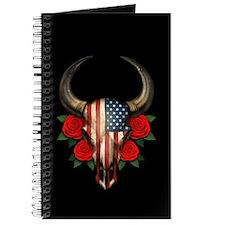 American Flag Bull Journal