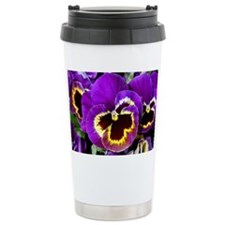 Beautiful purple pansy Travel Mug