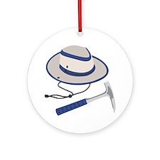Paleontologist Tools Ornament (Round)