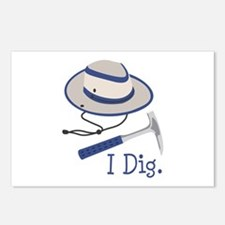 I Dig. Postcards (Package of 8)