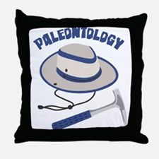 PALEONTOLOGY Throw Pillow