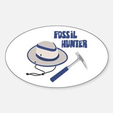 FOSSIL HUNTER Decal