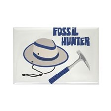 FOSSIL HUNTER Magnets