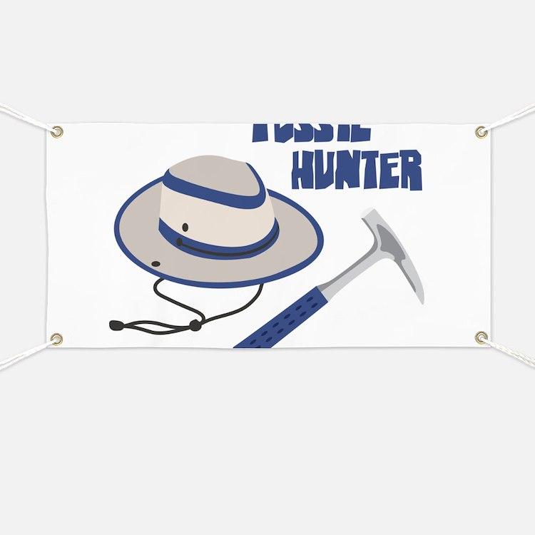 FOSSIL HUNTER Banner